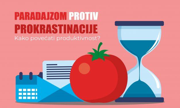 Paradajzom protiv prokrastinacije – Kako povećati produktivnost?